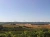 Auf dem Weg mit dem Rad nach Montalcino, gar nich so doof diese Iphone Panoramas...
